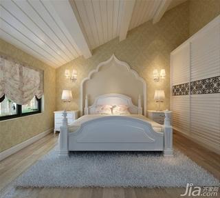 欧式风格卧室衣柜装修效果图