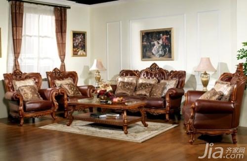 实木沙发图片大全之欧式布艺沙发:毫无疑问欧式布艺