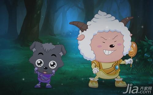 儿童卡通懒羊羊壁纸 懒羊羊壁纸图片